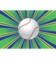 Baseball ball background vector