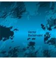 Grunge blue bright background vector