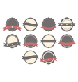 Set of badges labels and logos vector