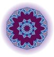 Mandala tribal design ethnic ornament template vector