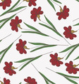 Gorgeous seamless floral background vector