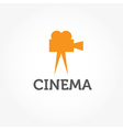 Film camera design template vector