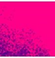 Abstract background bright sparkle red pixel vector