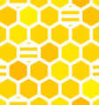 Honeycombs pattern vector