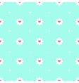 Flat minimalistic camomile seamless pattern vector