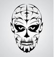 Face tribal vector