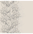 Flower pattern vector