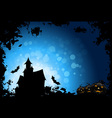 Grunge halloween party background vector