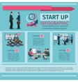 Conference infographics set vector