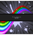 Abstract rainbow spectrum background vector