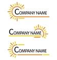 Corporate symbol templates vector