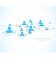 Social network background vector