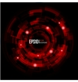Abstract techno circle background eps 10 vector
