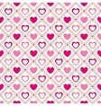 Heart shape seamless pattern pink and vector