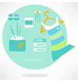 Sewing icons set -  eps 10 vector