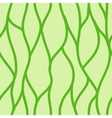 Green seamless abstract hand-drawn pattern vector