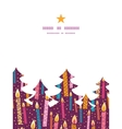 Colorful birthday candles christmas tree vector