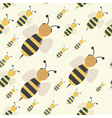 Abstract bee swarm vector