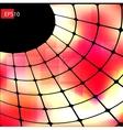 Dark abstract hi-tech red background vector