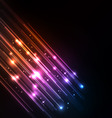 Abstract glow background vector