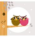 Owl friends vector