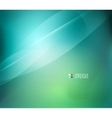 Green and blue blurred design template vector