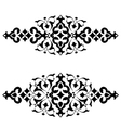 Ottoman motifs design series fifty three vector