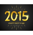 Happy new year 2015 banner for holiday vector