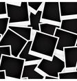 Blank photo cards vector