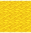 Yellow seamless abstract hand-drawn pattern vector