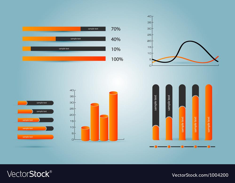 Infographic elements vector | Price: 3 Credit (USD $3)