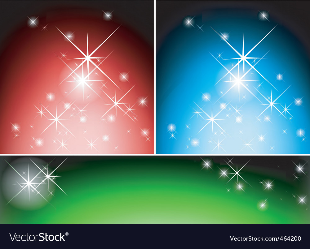 Lightning stars vector | Price: 1 Credit (USD $1)