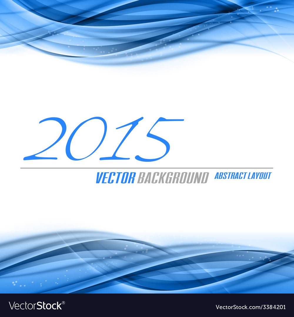 Blue background 2015 vector | Price: 1 Credit (USD $1)
