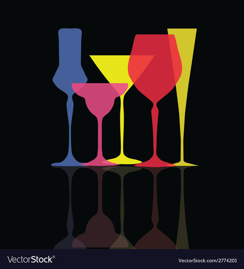 Glass collection vector   Price: 1 Credit (USD $1)