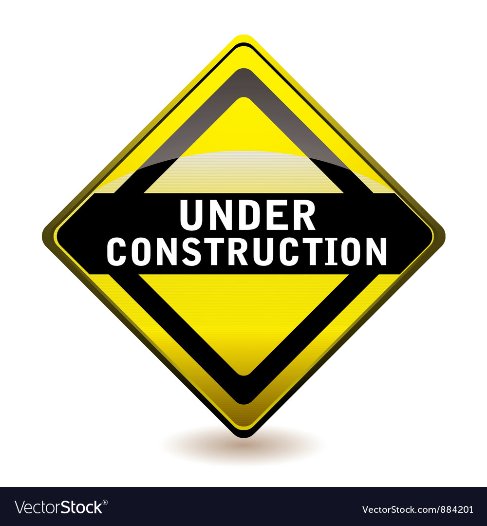 Under construction icon vector | Price: 1 Credit (USD $1)