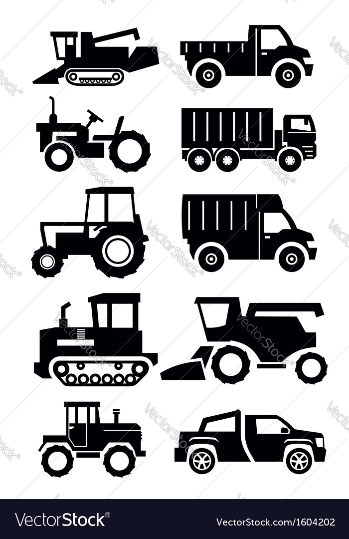 Agricultural transport vector | Price: 1 Credit (USD $1)