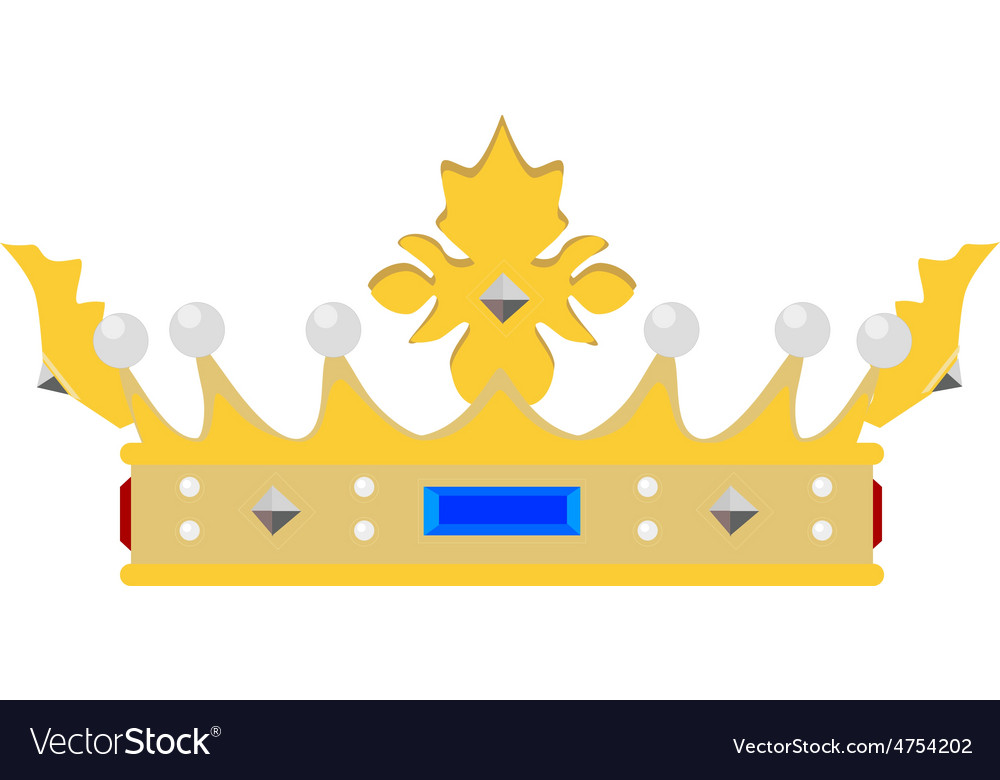 Queen crown vector | Price: 1 Credit (USD $1)