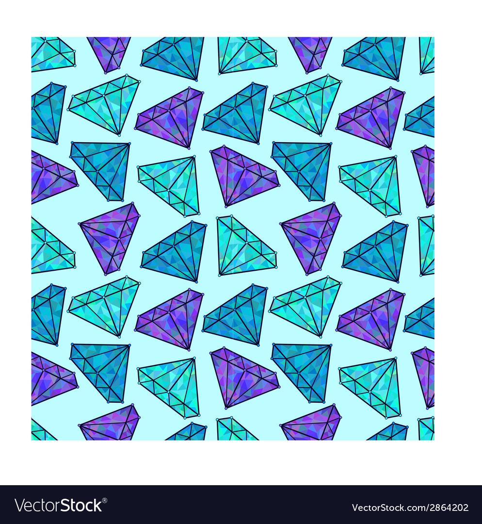 Shiny diamonds vector | Price: 1 Credit (USD $1)