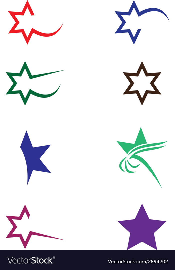 Star collection vector | Price: 1 Credit (USD $1)