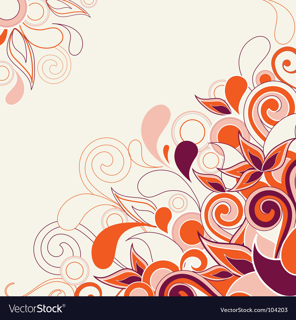 Abstract decorative vector | Price: 1 Credit (USD $1)