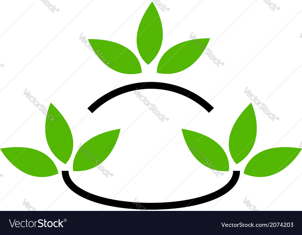 Environmental logo vector | Price: 1 Credit (USD $1)