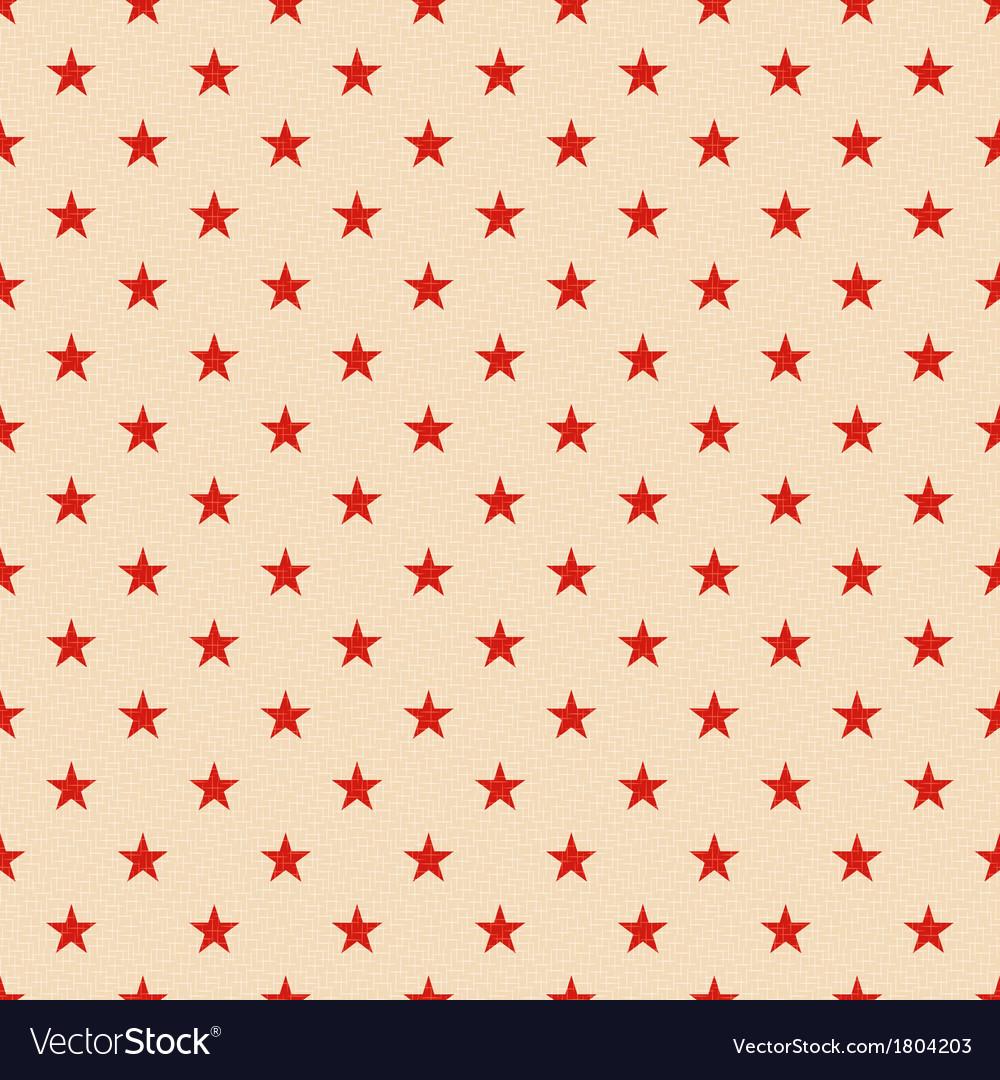 Seamless patriotic stars background vector   Price: 1 Credit (USD $1)