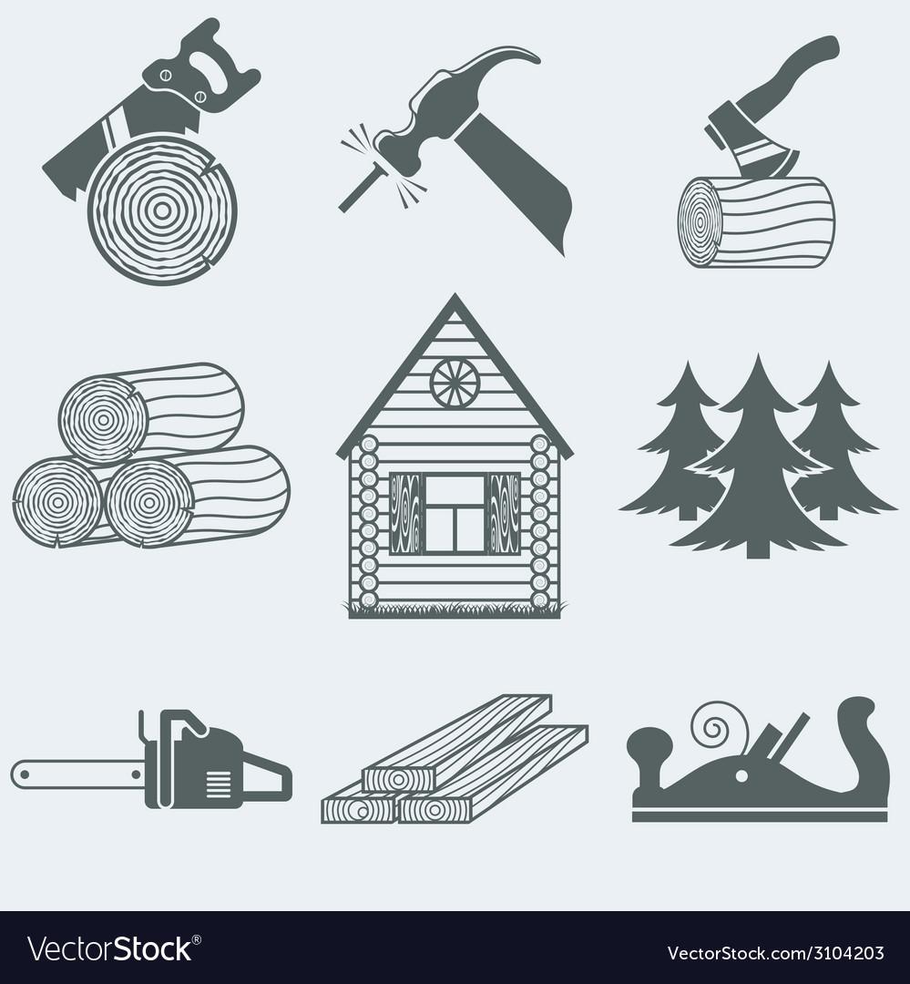 Woodworking vector