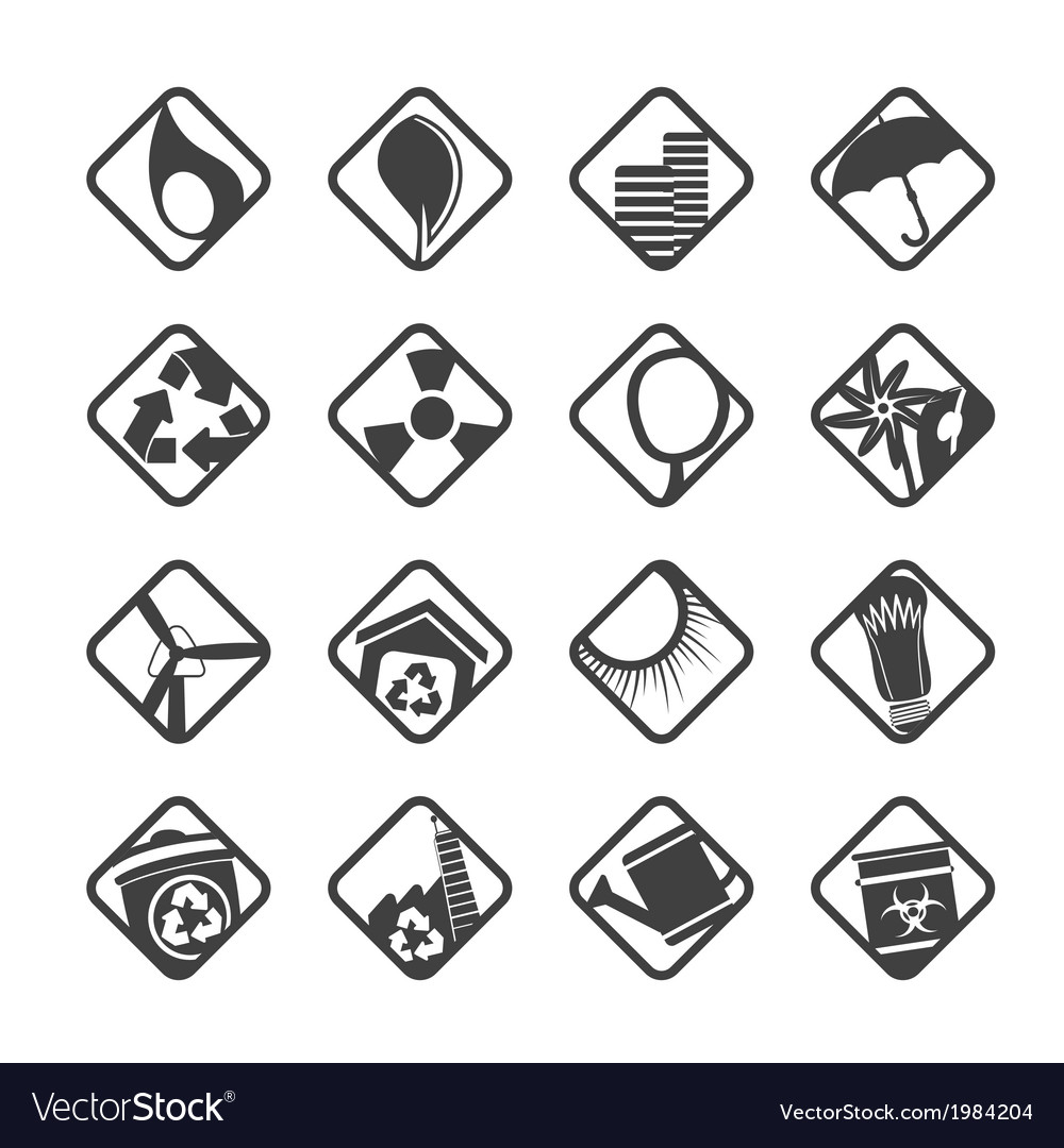 Ecology icons - set for web applications vector | Price: 1 Credit (USD $1)