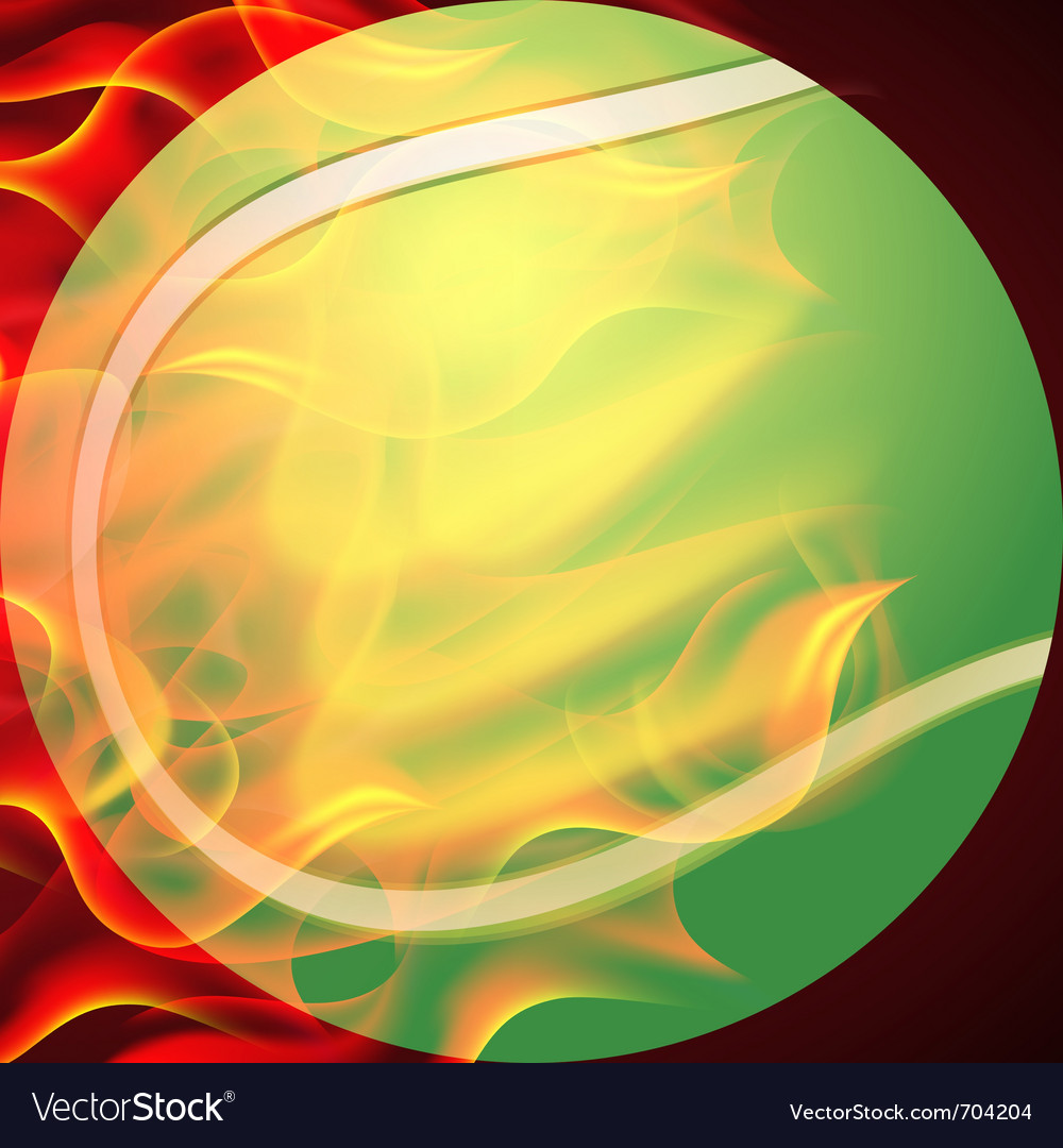 Tennis ball vector | Price: 3 Credit (USD $3)