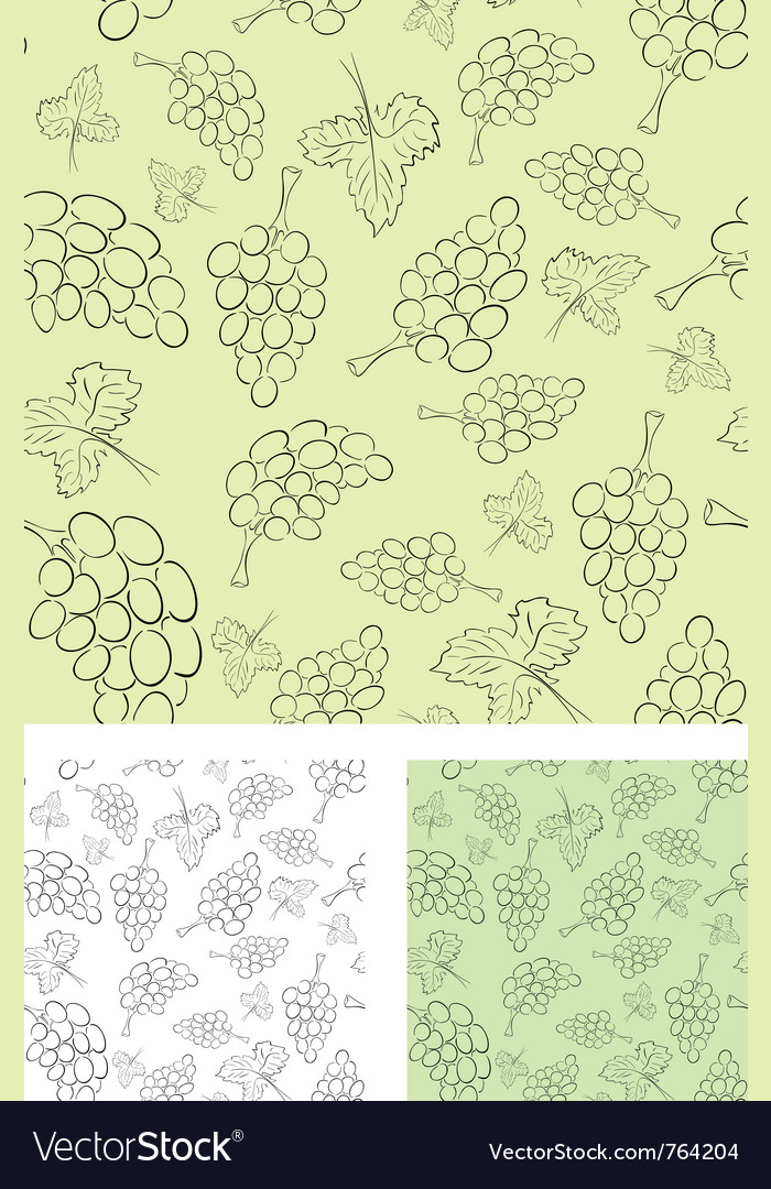 Vine seamless background vector | Price: 1 Credit (USD $1)