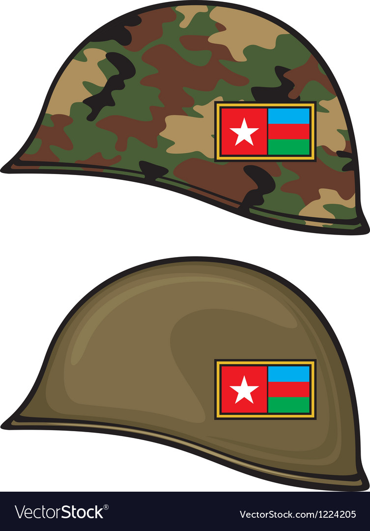 Military helmet vector | Price: 3 Credit (USD $3)