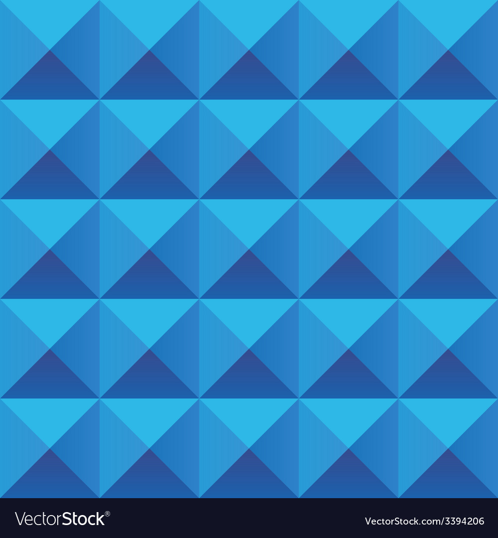 Abstract blue geometric squares seamless pattern vector | Price: 1 Credit (USD $1)