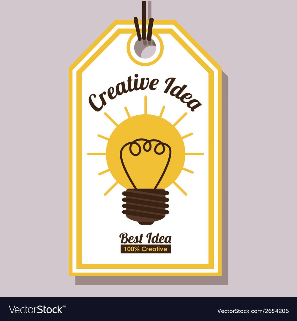 Ecological idea design vector   Price: 1 Credit (USD $1)