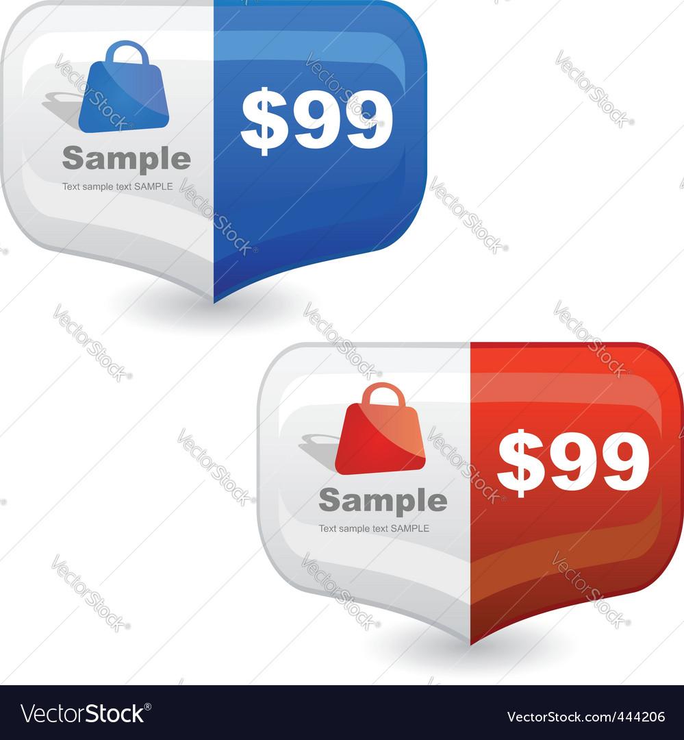 Various sale design elements vector